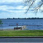 *Lake Wendouree with small Jetty - Ballarat, Vic.  Australia by EdsMum