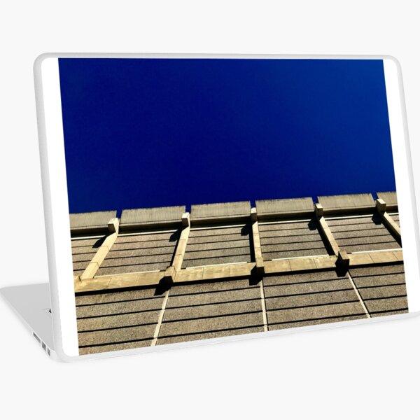 Blue, brutal ,beautiful  Laptop Skin