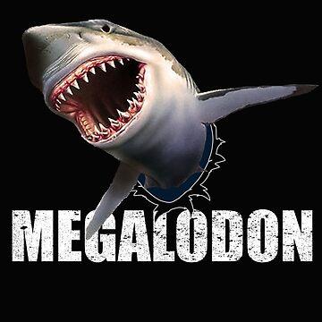 Megalodon Shark  by bev100
