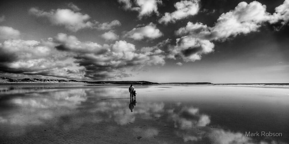 Out Walking by Mark Robson