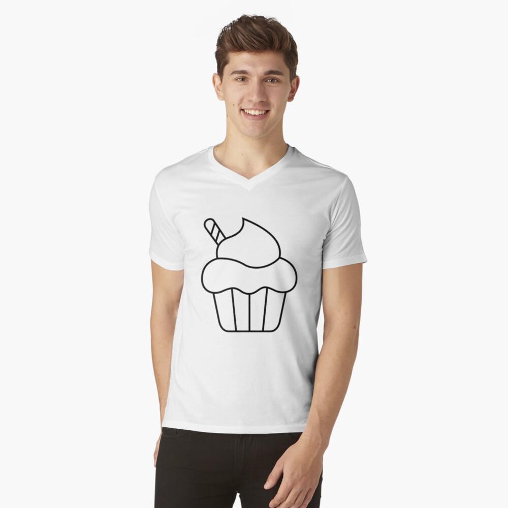 Ohne Titel T-Shirt mit V-Ausschnitt für Männer Vorne