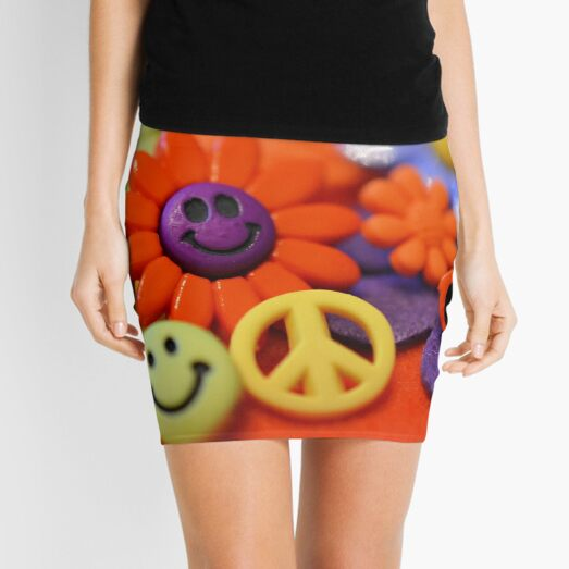 Symbols of the '70s Mini Skirt