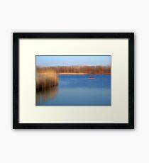 The Kayaker Framed Print