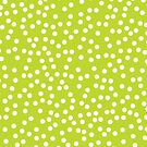 Cute Lime Green and White Polka Dot by itsjensworld