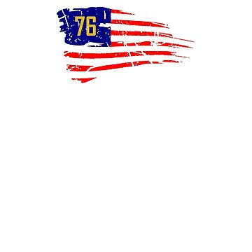 Fallout 76 - USA America Flag - Wasteland by NelloW100