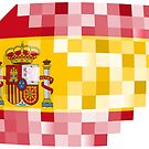 Spanish flag by siloto