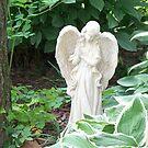 Garden Angel # 2 by grannyjune