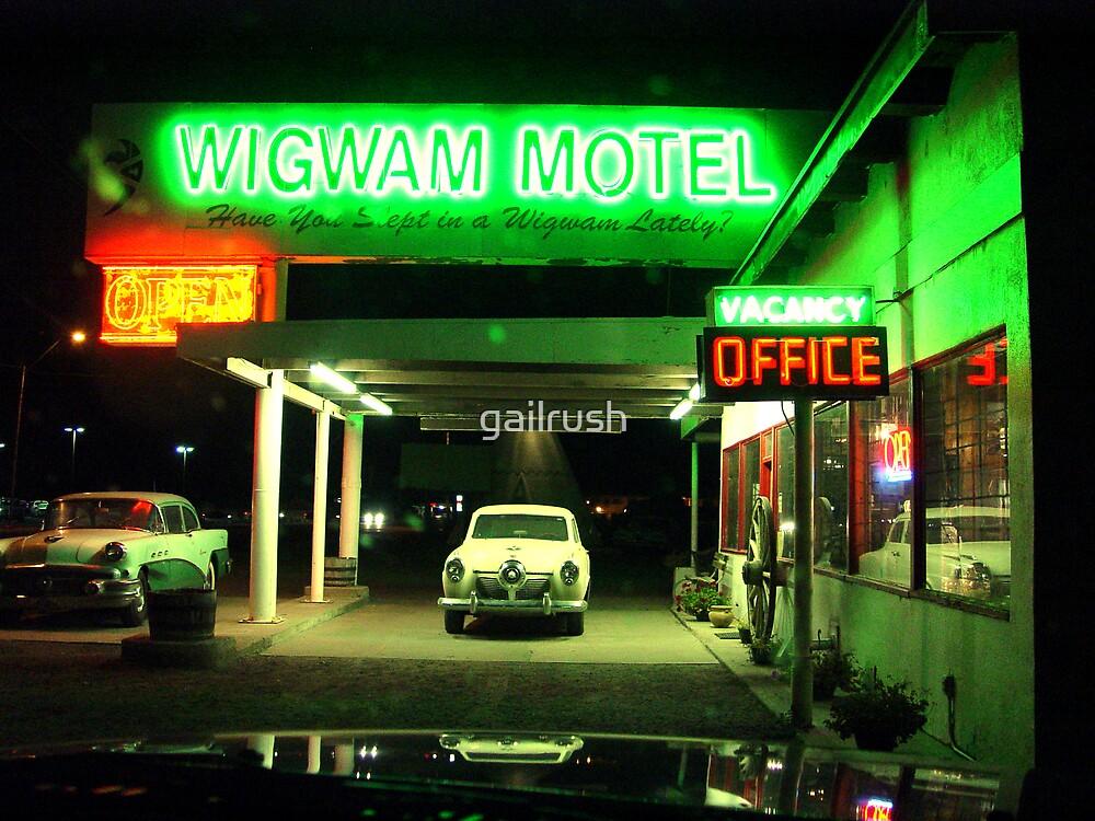 Wig Wam Motel by gailrush