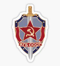 KGB LOGO Sticker
