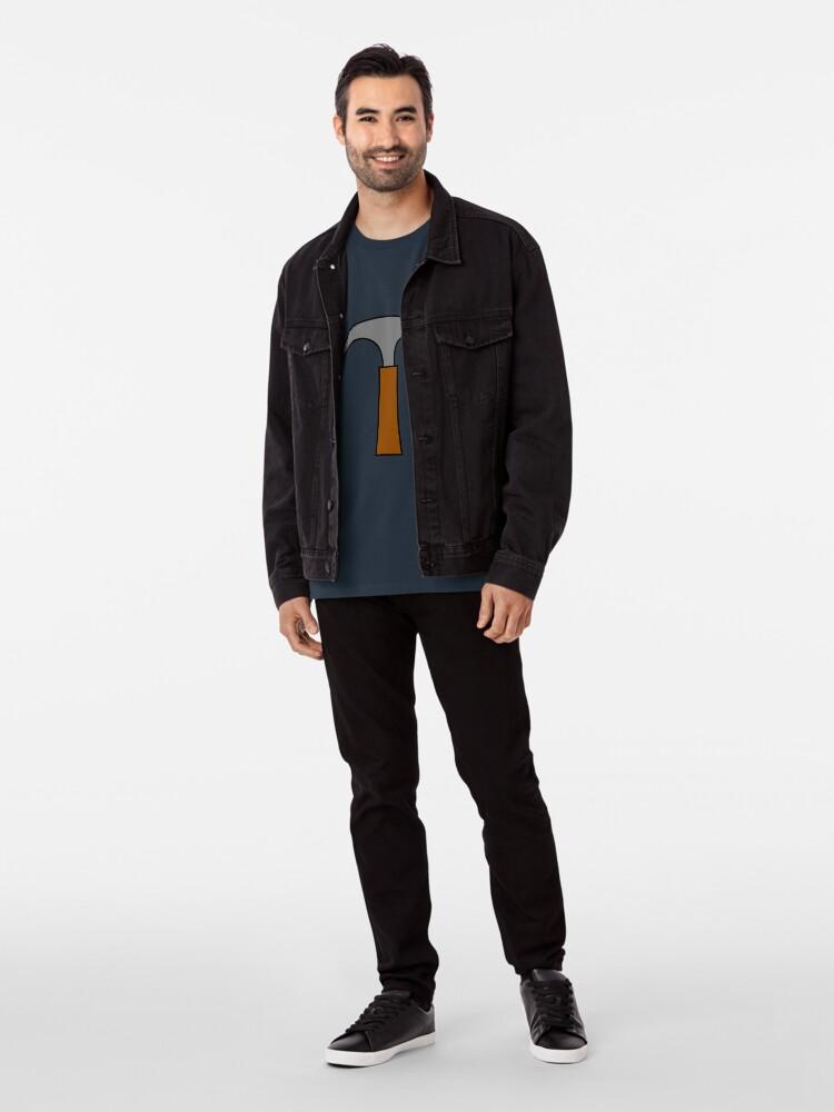 Alternative Ansicht von Hammer Premium T-Shirt
