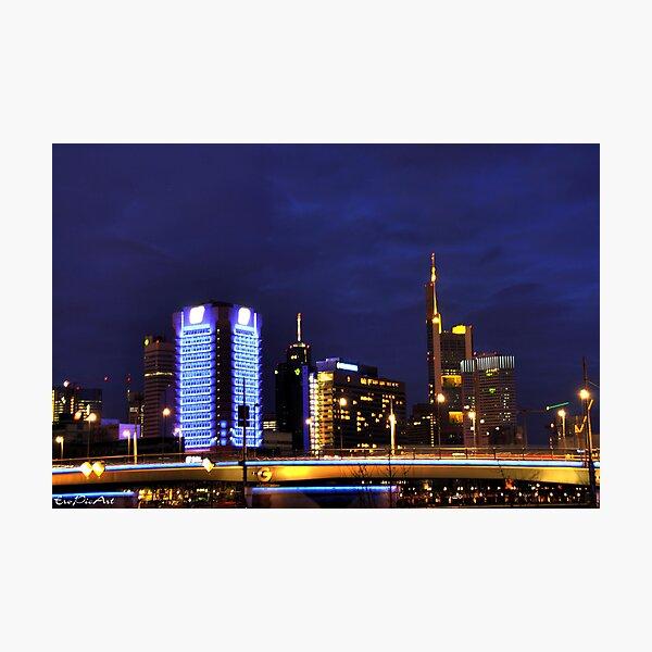 Frankfurt Skyline Photographic Print