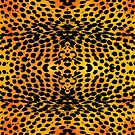 Pattern of skin of African animal by siloto