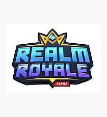 Real Royale - Game Photographic Print