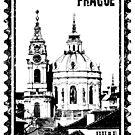 Church of St Nikolas in grunge style by siloto