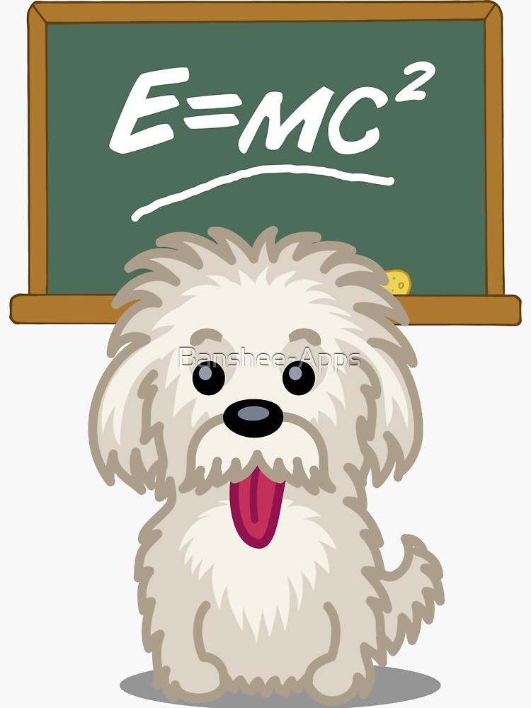 Shihtzu Shitzu Einstein dog tshirt - Dog Gifts for Shihtzu and Maltese Dog Lovers by Banshee-Apps