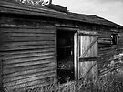 Small Weathered Barn by Aaron Campbell