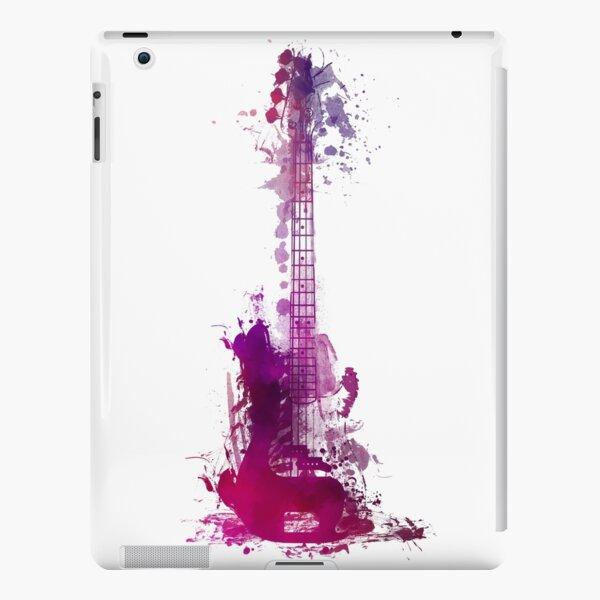 Funky purple guitar iPad Snap Case