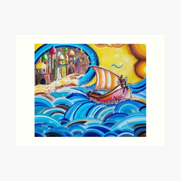 Sinbad, the legend of the seven seas Art Print