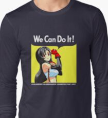 We Can Do It Cloud! Long Sleeve T-Shirt