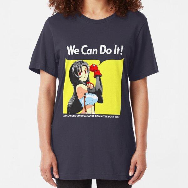 We Can Do It Cloud! Slim Fit T-Shirt