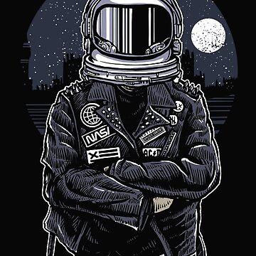 Urban Astronaut Rebel by GarnetLeslie