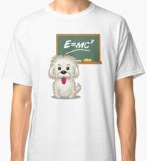 Maths Equation Einstein Shitsiu dog tshirt - Dog Gifts for Shihtzu and Maltese Dog Lovers Classic T-Shirt