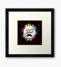 i Love You Dad Framed Print