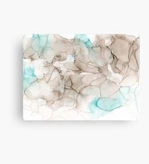 Ethereal Beach Abstract Canvas Print