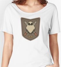 Sora No Woto Owl Crest Women's Relaxed Fit T-Shirt