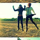 Double Jump, Triple View by MRPhotography