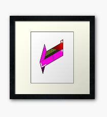 Futuristic fruit Framed Print