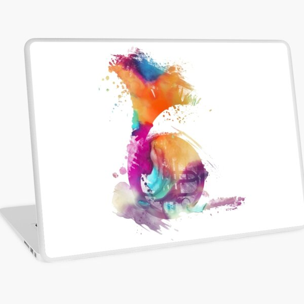 French horn colored musical instruments Laptop Skin