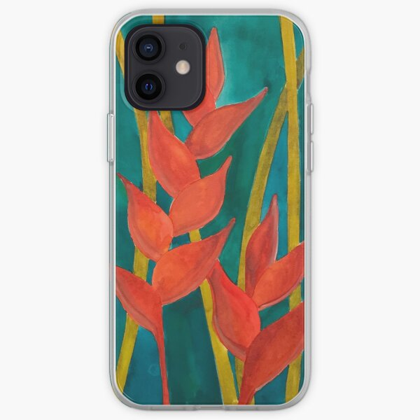 Heliconia iPhone Soft Case