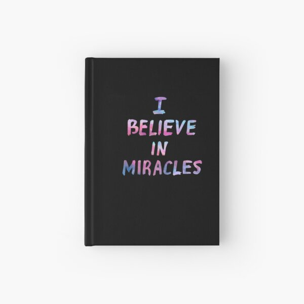 I believe in miracles Hardcover Journal