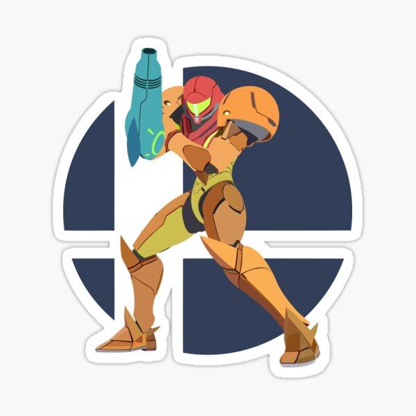Samus - Super Smash Bros. Ultimate Sticker