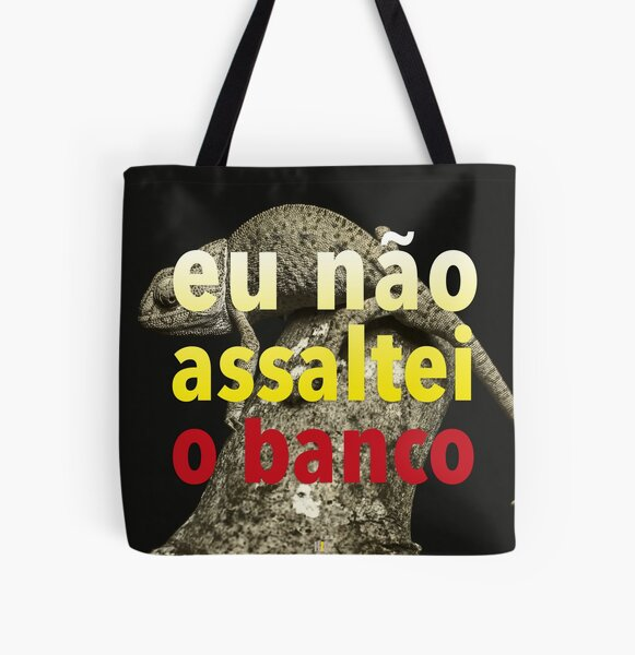Bank assault art project All Over Print Tote Bag