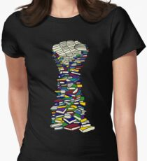 Knowledge Is Power Women's Fitted T-Shirt