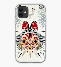 mononoke princess iPhone Case