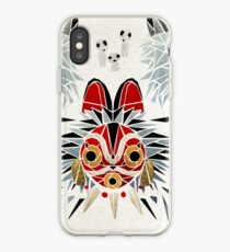 Mononoke-Prinzessin iPhone-Hülle & Cover