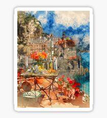 Amalfi, Italy Sticker