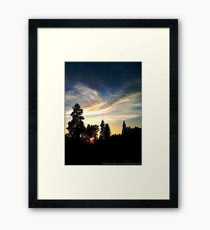 Quiet Grandeur Framed Print
