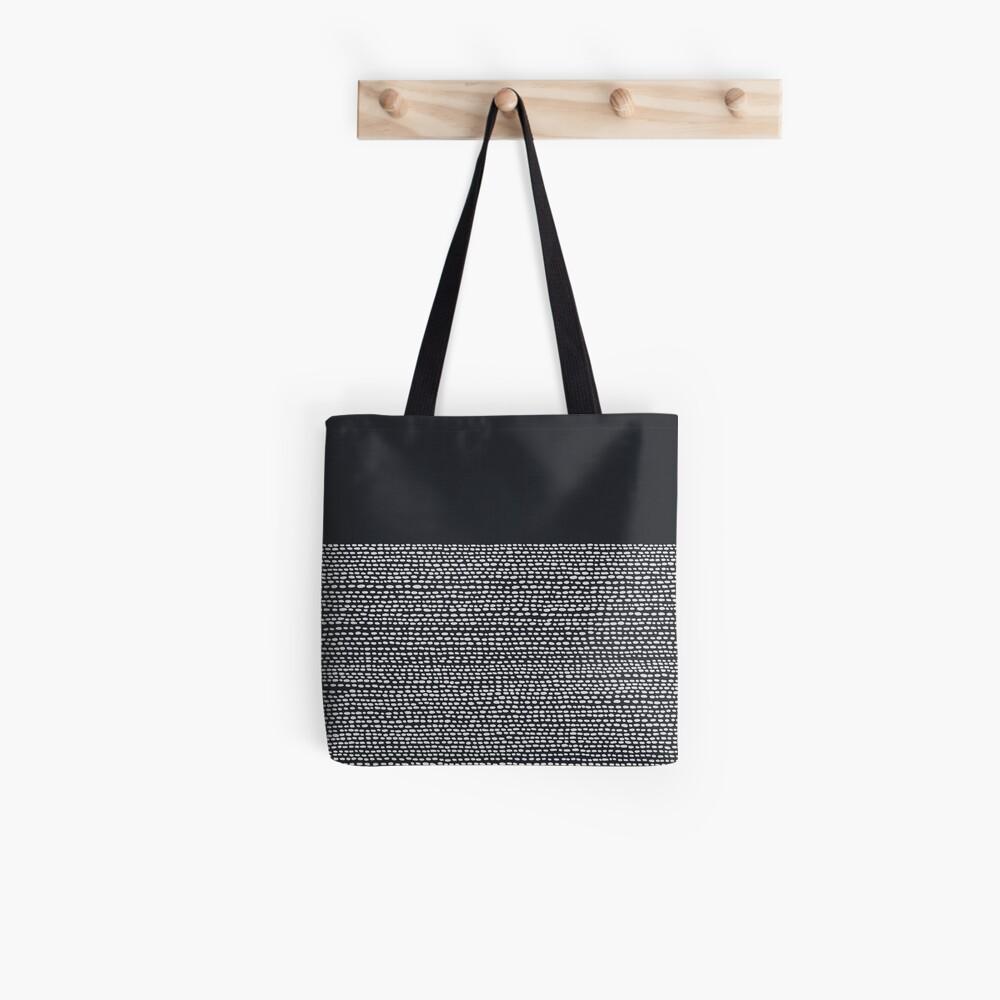 Riverside Black Tote Bag
