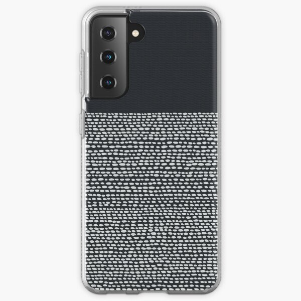 Riverside Black Samsung Galaxy Soft Case