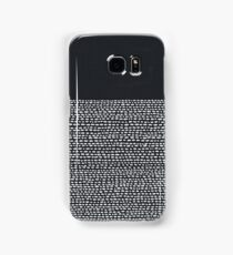 Riverside Black Samsung Galaxy Case/Skin