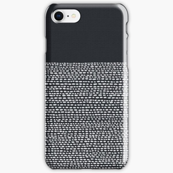 Riverside Black iPhone Snap Case