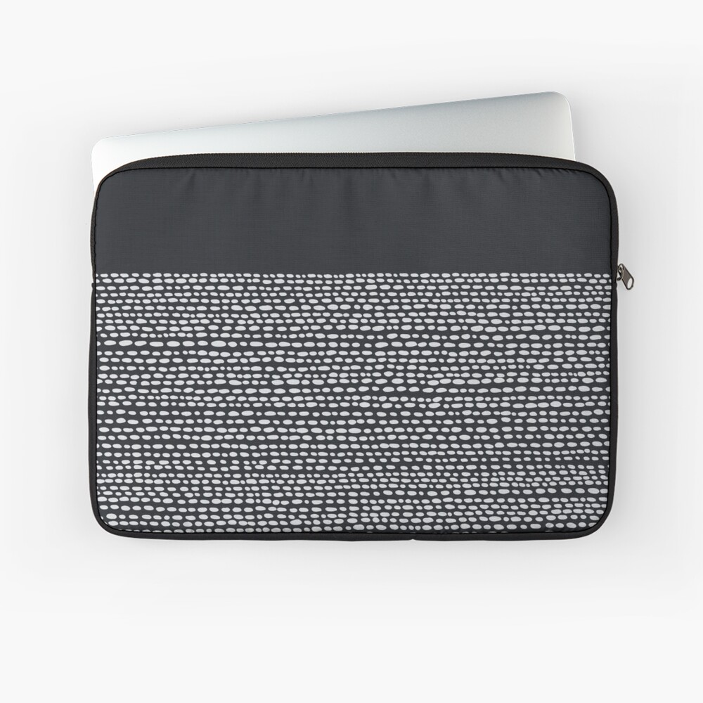 Riverside Black Laptop Sleeve