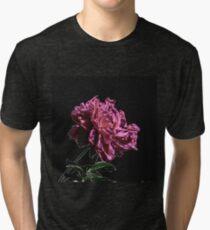 Pink Peony Tri-blend T-Shirt