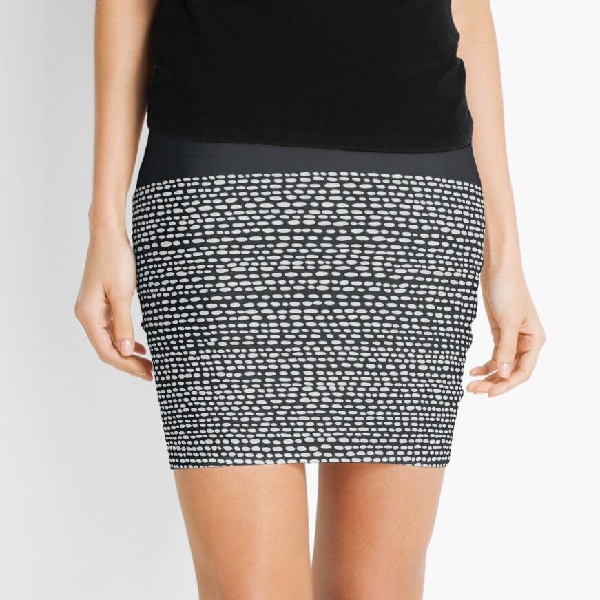 Riverside Black Mini Skirt
