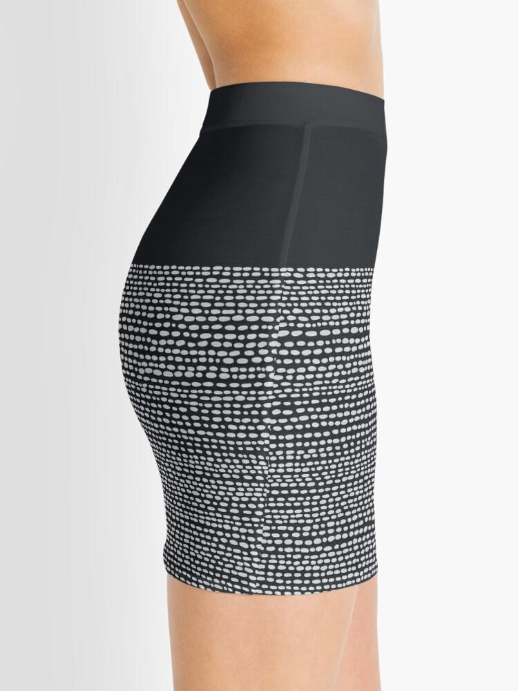 Alternate view of Riverside Black Mini Skirt