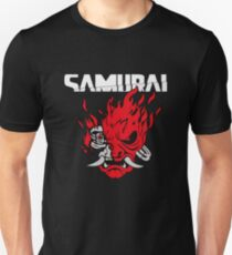 Cyberpunk 2077 - Samurai Corporate Logo Unisex T-Shirt